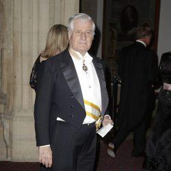 El Duque de Alba en la cena de los Reyes Felipe y Letizia en Guildhall