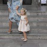 Leonor de Suecia en el 40 cumpleaños de Victoria de Suecia
