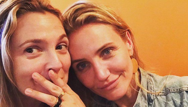 Drew Barrymore se reencuentra con Cameron Díaz