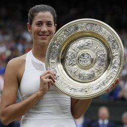 Garbiñe Muguruza se convierte en la ganadora de Wimbledon 2017