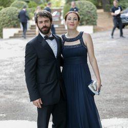El actor Alberto Amarilla en la boda de Canco Rodríguez