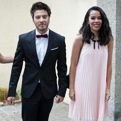 Beatriz Luengo y Blas Cantó en la boda de Canco Rodríguez
