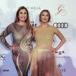 María Bravo y Eva Longoria en la gala Global Gift de Marbella 2017