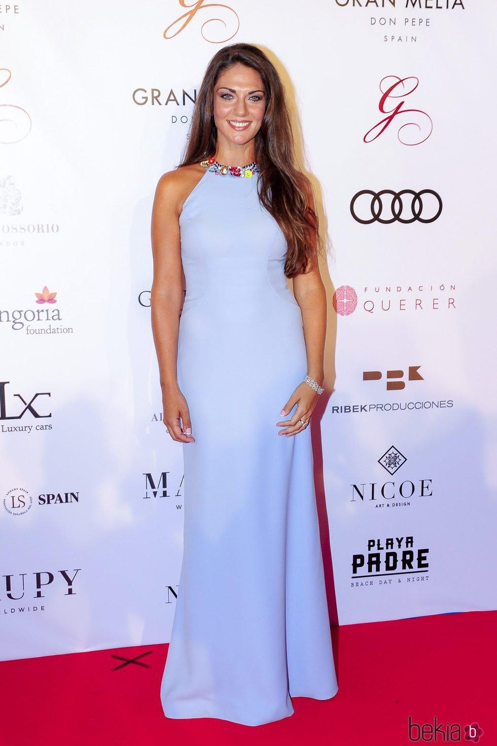 Lorena Bernal en la gala Global Gift de Marbella 2017