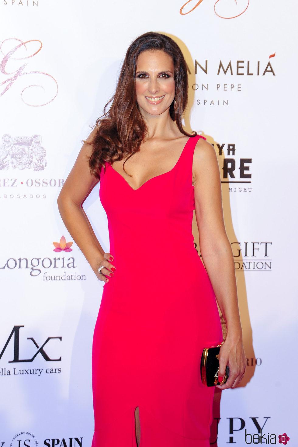 Nuria Fergó en la gala Global Gift de Marbella 2017