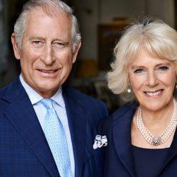 Camilla Parker Bowles con el Príncipe Carlos con motivo de su 70 cumpleaños