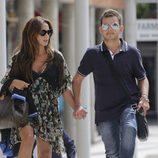 David Flores y Olga Moreno en el juzgado de Alcobendas