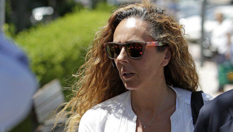 Rocío Carrasco se ve las caras con Antonio David Flroes y su hijo David en los juzgados