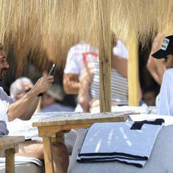 Eva Longoria y José Antonio Bastón disfrutando del sol y la playa en Marbella