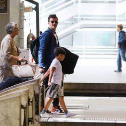 Orlando Bloom y su hijo juntos de vacaciones