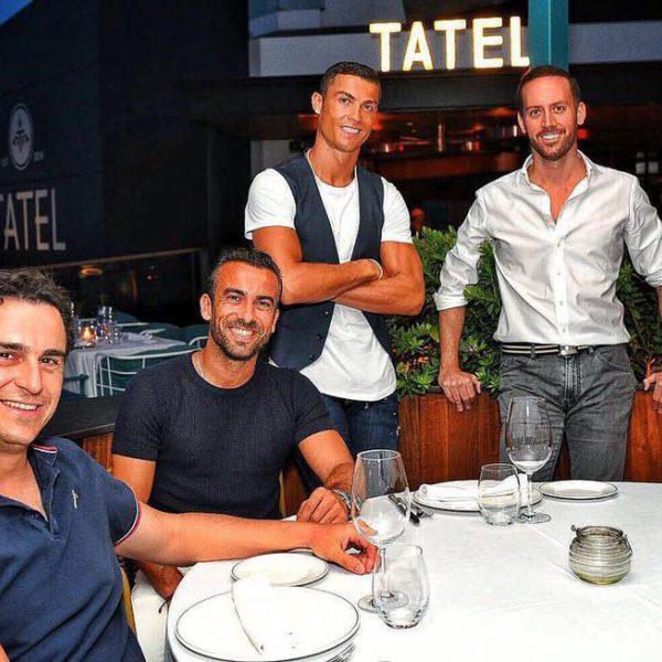 Famosos en el nuevo restaurante de Cristiano Ronaldo en Ibiza