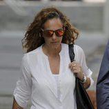 Rocío Carrasco yendo a los juzgados de Alcobendas