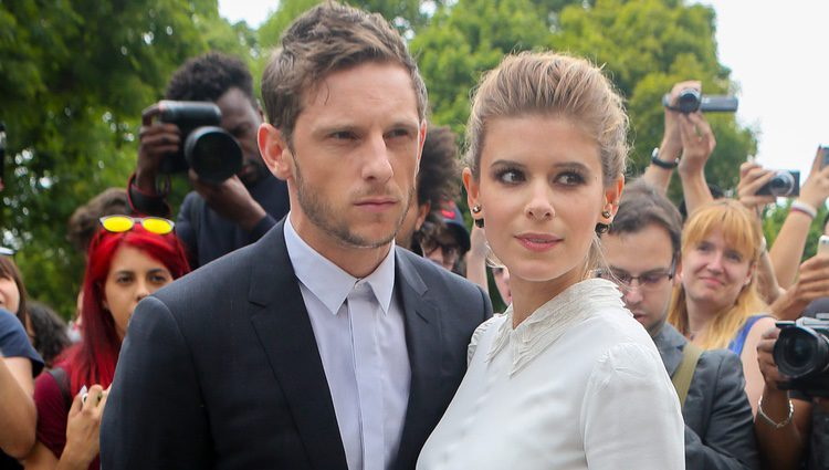 Kate Mara y Jamie Bell en la presentación de Dior Collection