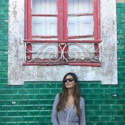 Sara Carbonero haciendo turismo en Oporto