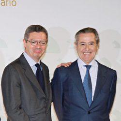 Alberto Ruiz Gallardón y Miguel Blesa