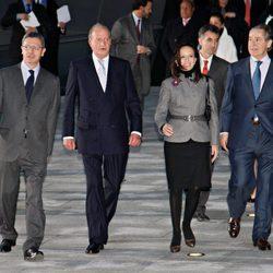 Alberto Ruiz Gallardón, el Rey Juan Carlos, Beatriz Corredor y Miguel Blesa