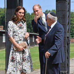 Los Duques de Cambridge visitan el campo de concentración Stutthof en Polonia