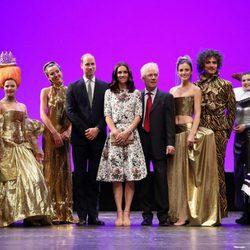 Los Duques de Cambridge en el Gdansk Shakespeare Theatre