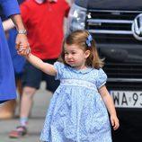 La Princesa Carlota en su despedida de Polonia