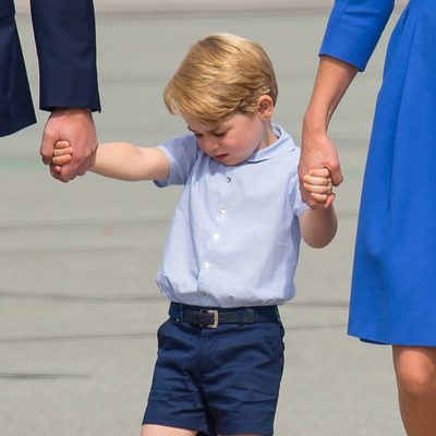 El Príncipe Jorge, enfadado en su despedida de Polonia