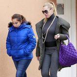 Belén Esteban junto a su hija Andrea Janeiro cuando era una niña