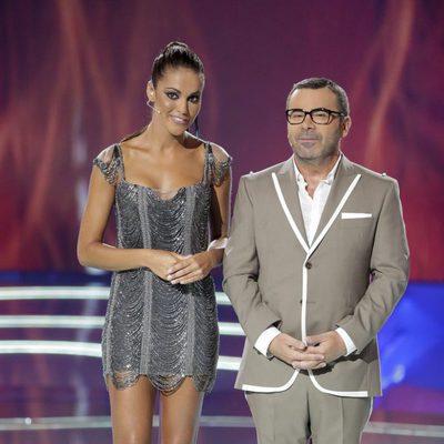 Lara Álvarez y Jorge Javier Vázquez en la gala final de 'Supervivientes 2017'