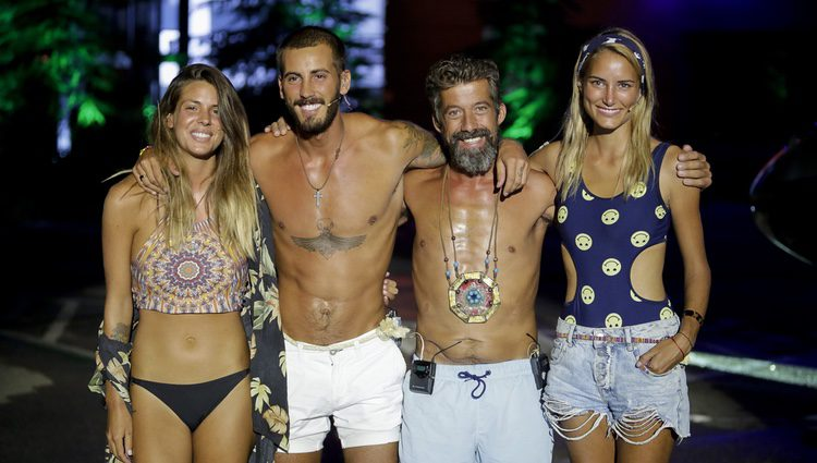 Laura Matamoros, Alba Carrillo, Iván González y José Luis, finalistas de 'Supervivientes 2017'