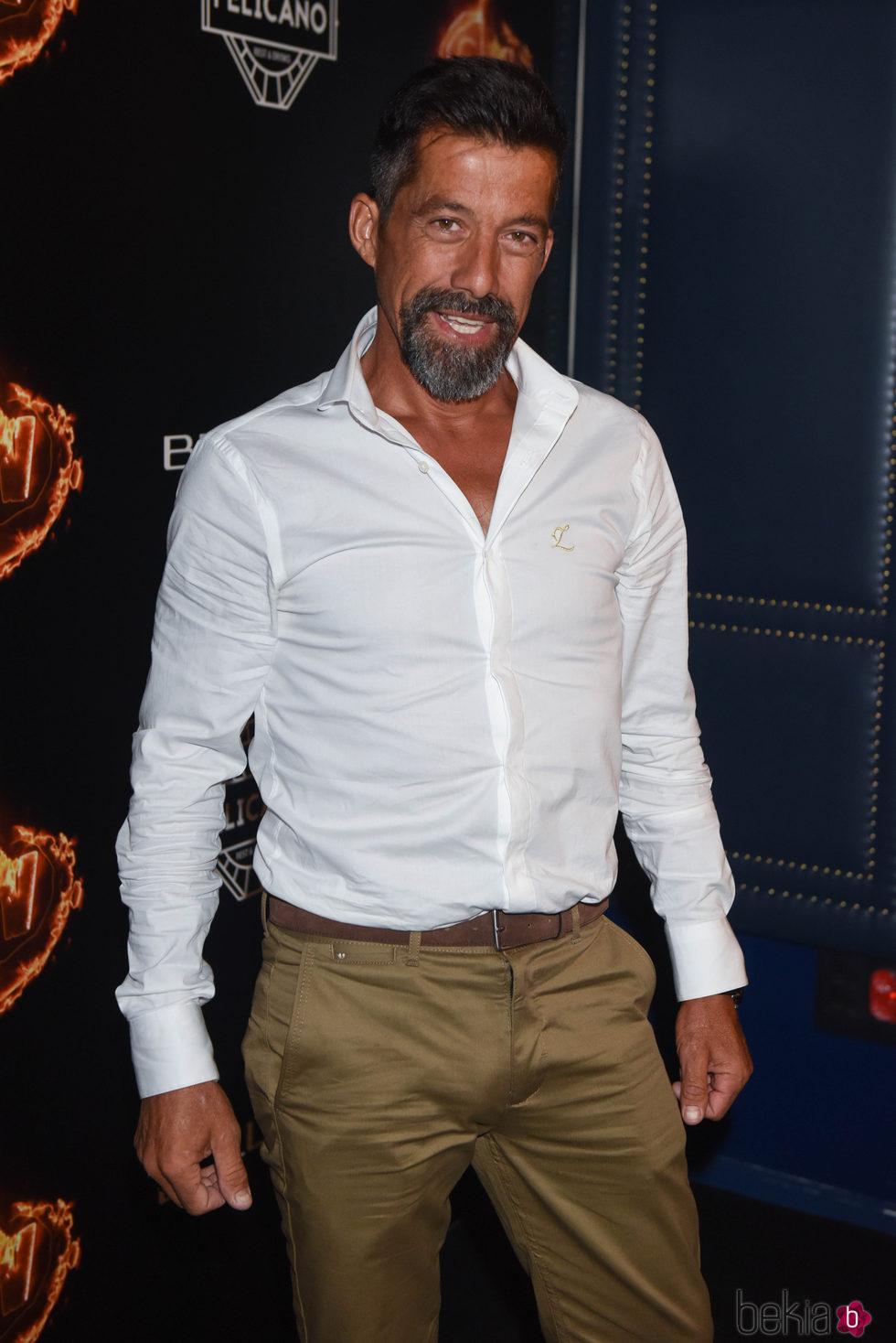 José Luis en la fiesta de la final de 'Supervivientes 2017'