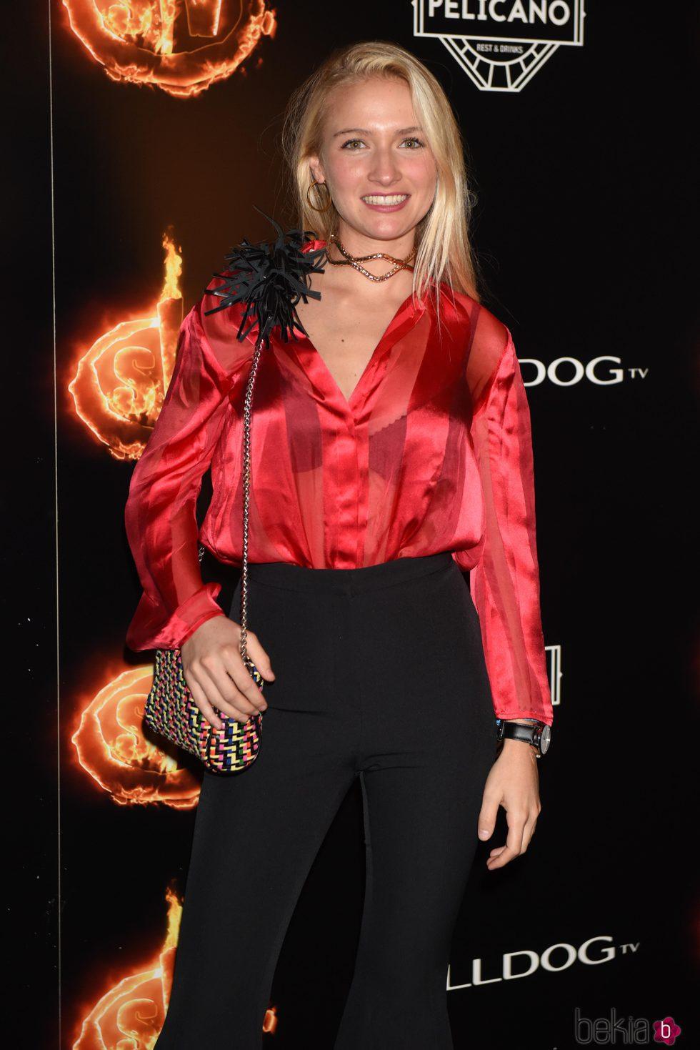 Janette Capdevila en la fiesta de la final de 'Supervivientes 2017'