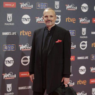 Miguel Bosé en los Premios Platino 2017
