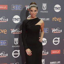 Juana Acosta en los Premios Platino 2017