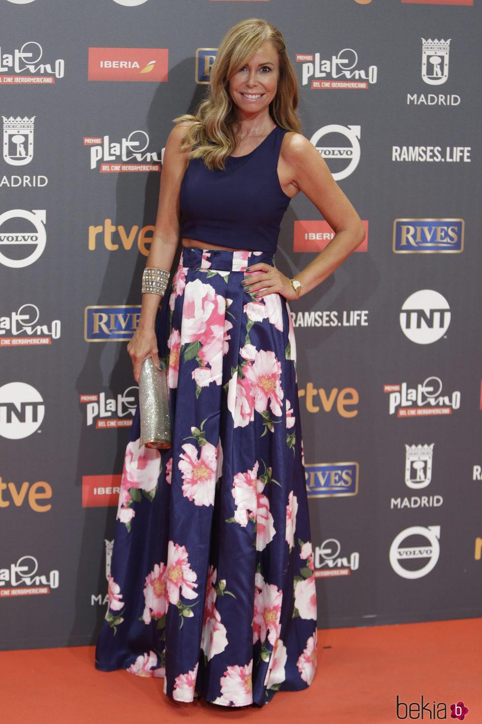 Lara Dibildos en los Premios Platino 2017