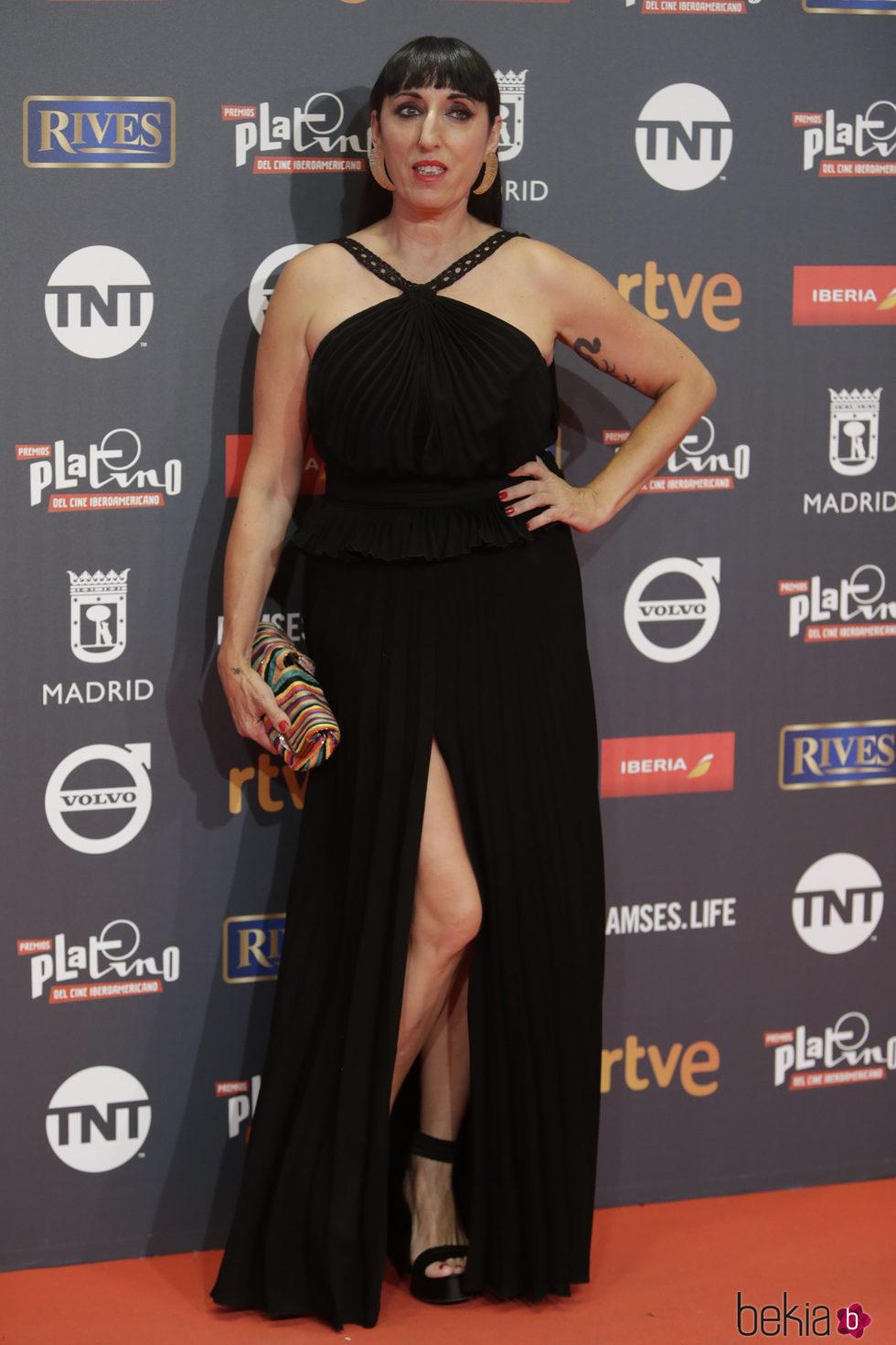 Rossy de Palma en los Premios Platino 2017