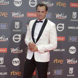 Asier Etxeandia en los Premios Platino 2017