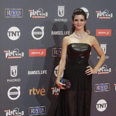 Clara Lago en los Premios Platino 2017