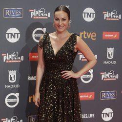 Ana Milán en los Premios Platino 2017