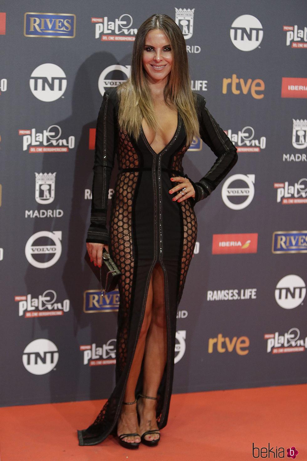 Kate del Castillo en los Premios Platino 2017
