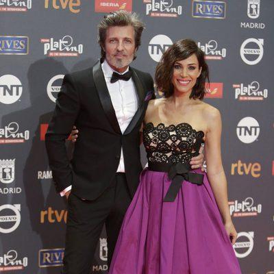 Jesús Olmedo y Nerea Garmendia en los Premios Platino 2017