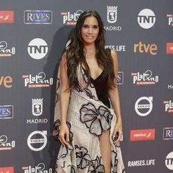 India Martínez en los Premios Platino 2017