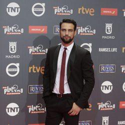 Jesús Castro en los Premios Platino 2017
