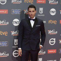 Miguel Ángel Silvestre en los Premios Platino 2017