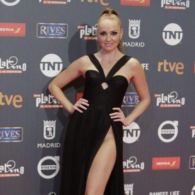 Cristina Castaño en los Premios Platino 2017