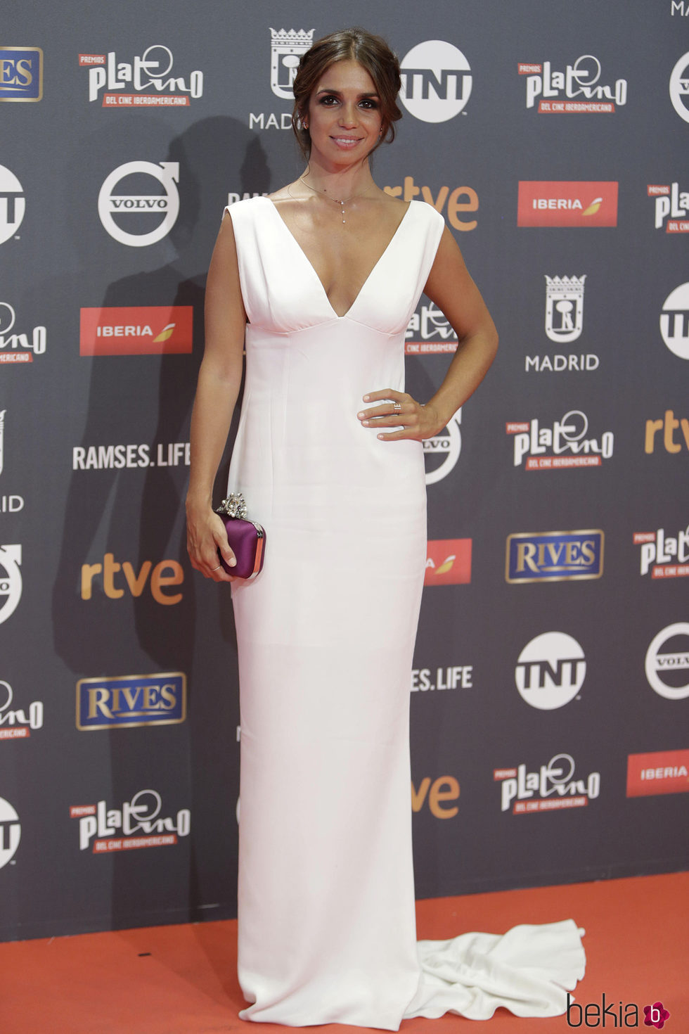 Elena Furiase en los Premios Platino 2017