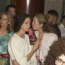 La Infanta Elena y Victoria de Marichalar en el concierto de José Manuel Soto en Madrid