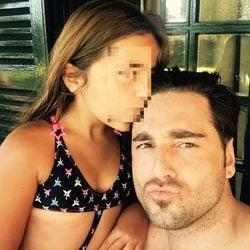 David Bustamante disfrutando de las vacaciones con su hija Daniella