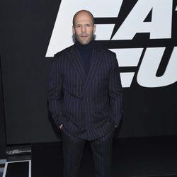 Jason Statham en el estreno de 'Fast & Furious 8' en Nueva York