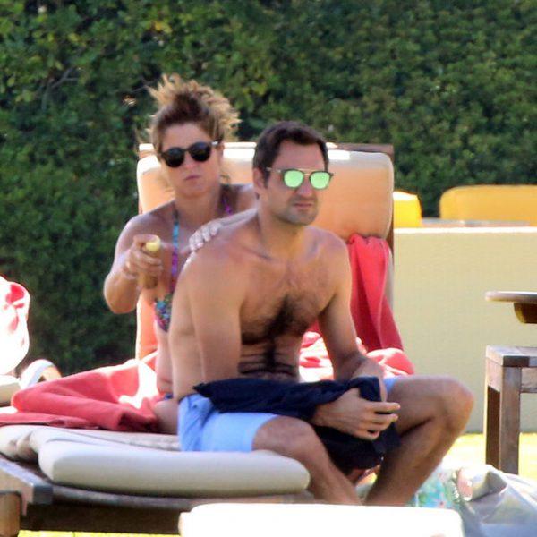 Las vacaciones de Roger Federer y su familia por Cerdeña