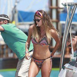 Laura Matamoros se divierte en la isla de Ibiza