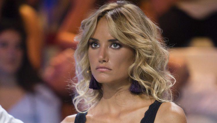 Alba Carrillo enfadada en el debate final de 'Supervivientes 2017'