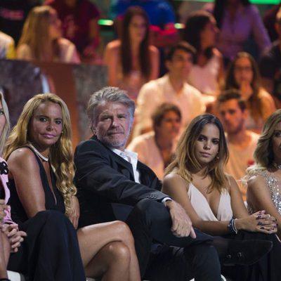 Janet Capdevila, Leticia Sabater, Bigote Arrocet, Paola Caruso y Gloria Camila en el debate final de 'Supervivientes 2017'